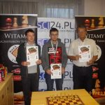 od lewej Bartosz Warchoł, Witold Klepek, Janusz Raszka Fot. organizatorzy