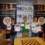 od lewej Mikołaj Grzybek, Mateusz Myrmus, Igor Zaborski Fot. organizatorzy