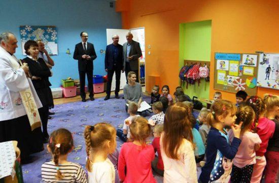 Wizyta w oddziale dla 4-latków. Fot. GK