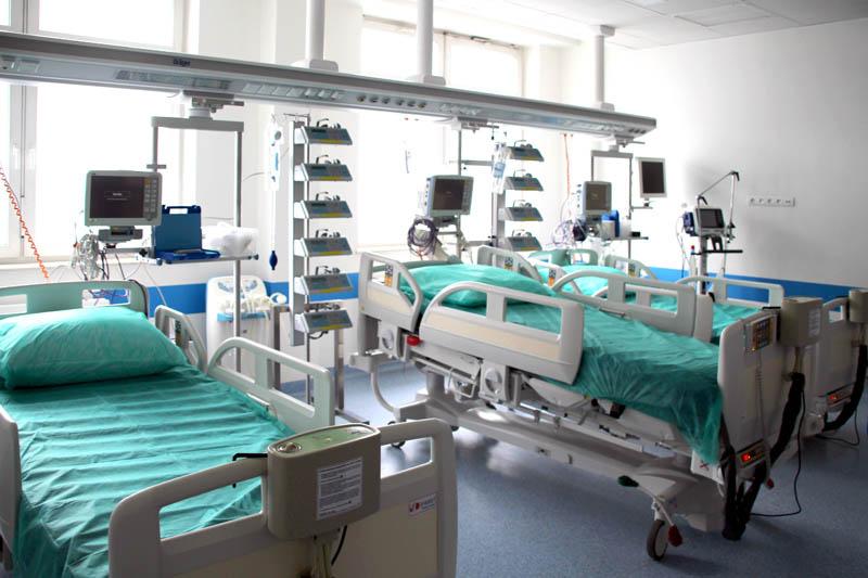 Stanowiska intensywnej terapii SOR w Szpitalu Śląskim w Cieszynie