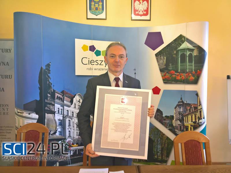 Burmistrz Miasta Cieszyna Ryszard Macura o Targach Przedsiębiorczości, Pracy i Edukacji w Cieszynie oraz o polityce prorodzinnej