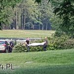 znalezienie ciała mężczyzny w ustroniu 12.06.2018 r