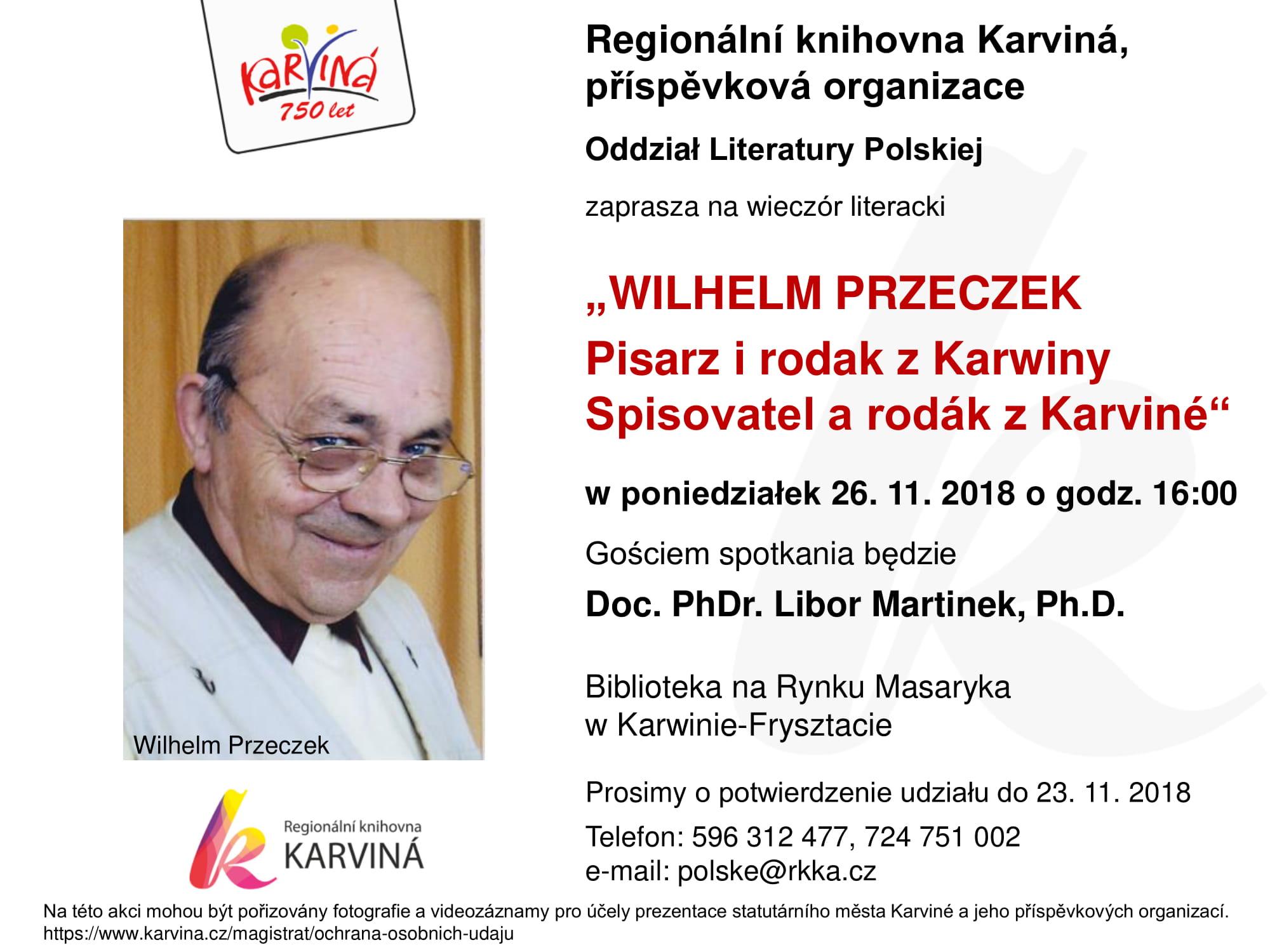 Zaproszenie Na Wieczór Literacki Sci24pl